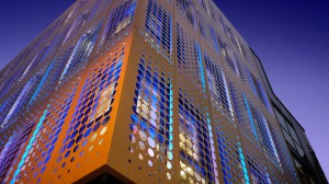 Perforated Aluminium Cladding