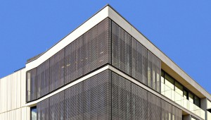 Perforated Brass Cladding