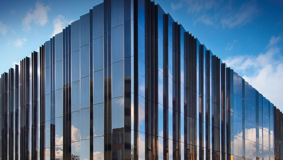 Stainless Steel Metal Cladding : Marks spencers archive university of leeds proteus