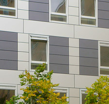 Anodised Aluminium Rainscreen Cladding