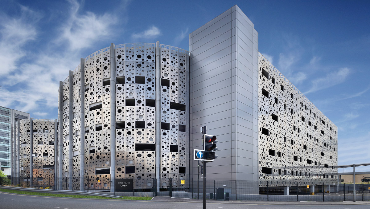 Perforated Aluminium Cladding Panels