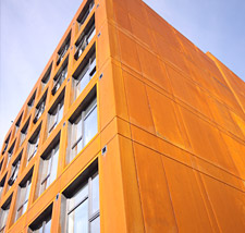 Corten Rainscreen Cladding