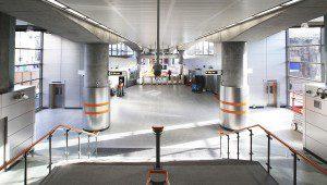 London Underground Stainless Steel Rainscreen Cladding