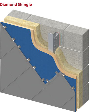 Diamond Shape Shingle