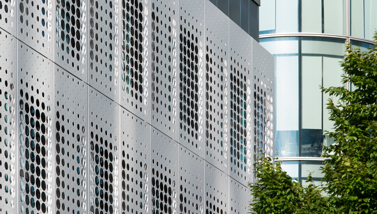 perforated metal perforated metal mesh cladding proteus