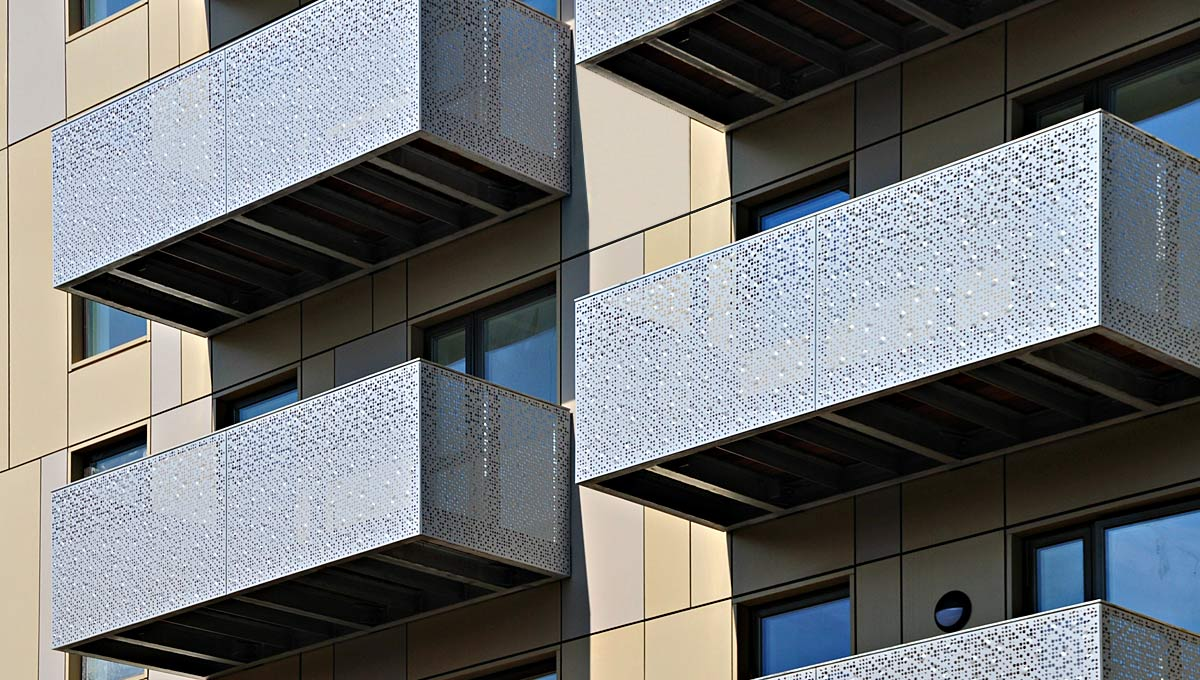 Perforated Balcony Panels
