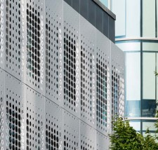 Perforated Aluminium Rainscreen Cladding