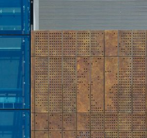 TECU Brass Capisco Patinated Rainscreen Cladding