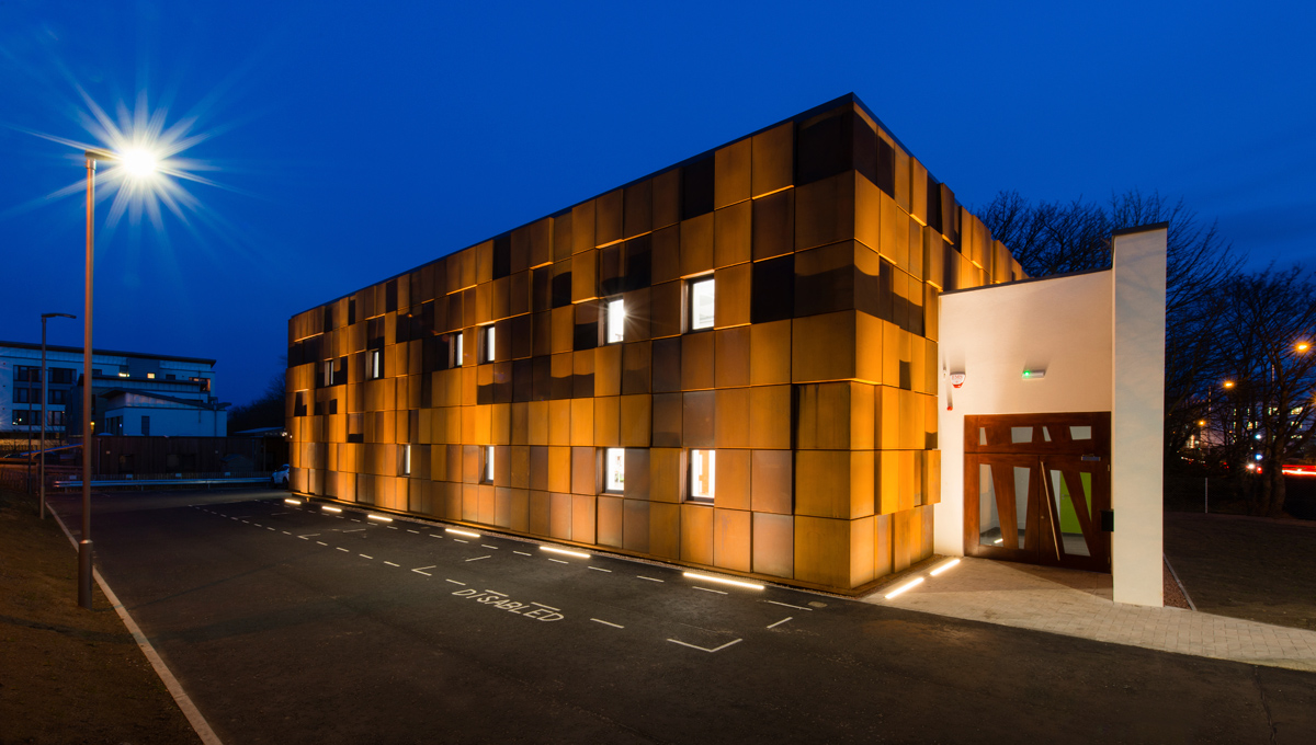 Corten Rainscreen Cladding - Proteus SC