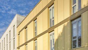 Elzinc Gold Rainscreen Cladding - Proteus HR