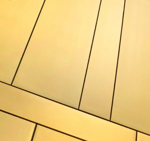 Elzinc Gold Rainscreen Cladding - Proteus HR