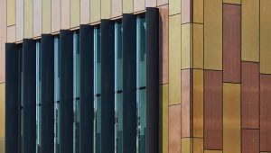 TECU Bronze and TECU Brass Rainscreen Cladding - Proteus HR