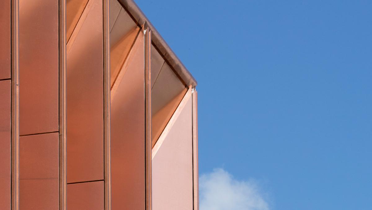 A guide to specifying copper rainscreen cladding | Proteus Facades