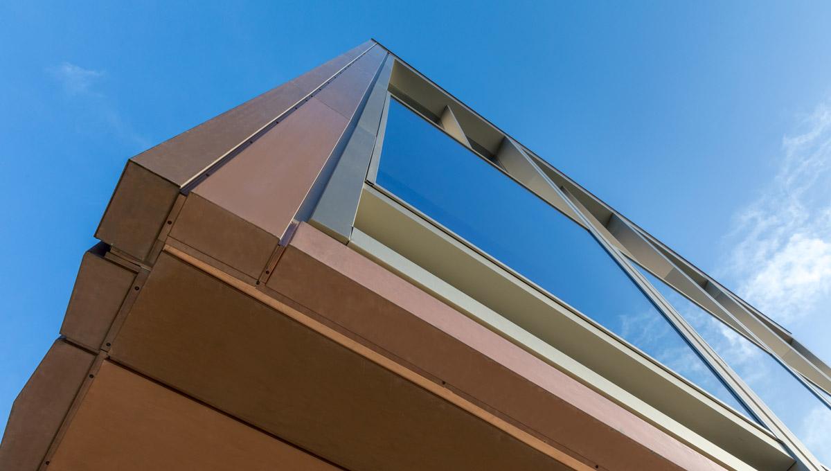 TECU Bronze Rainscreen Cladding - Proteus HR