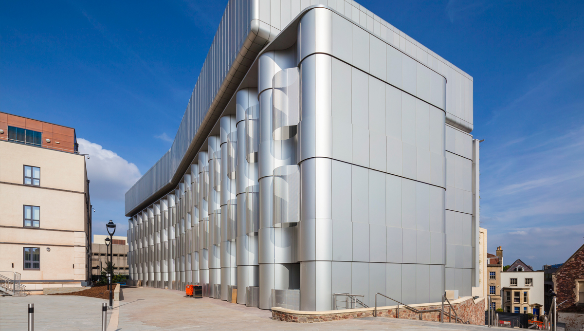 Natural Anodised Aluminum Rainscreen Cladding - Proteus HR & SC