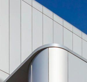 Natural Anodised Aluminum Rainscreen Cladding - Proteus HR
