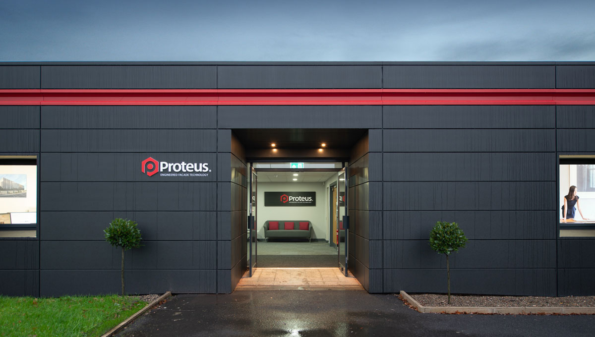 Zinc Rainscreen Cladding - Proteus HR