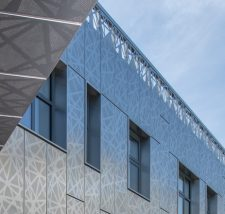 Perforated Stainless Steel Cladding