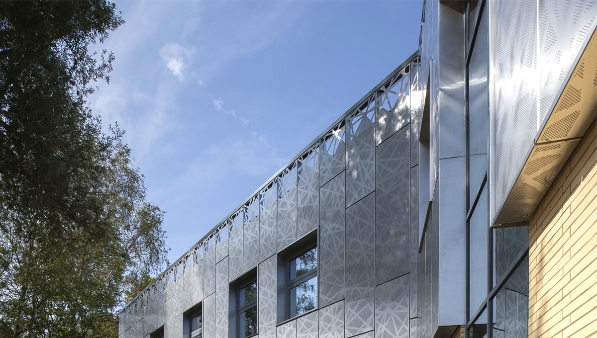 Proteus SC stainless steel cladding