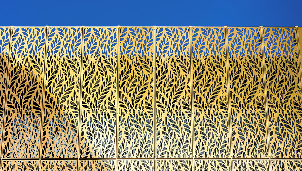 White Hart Street laser Cut Panels